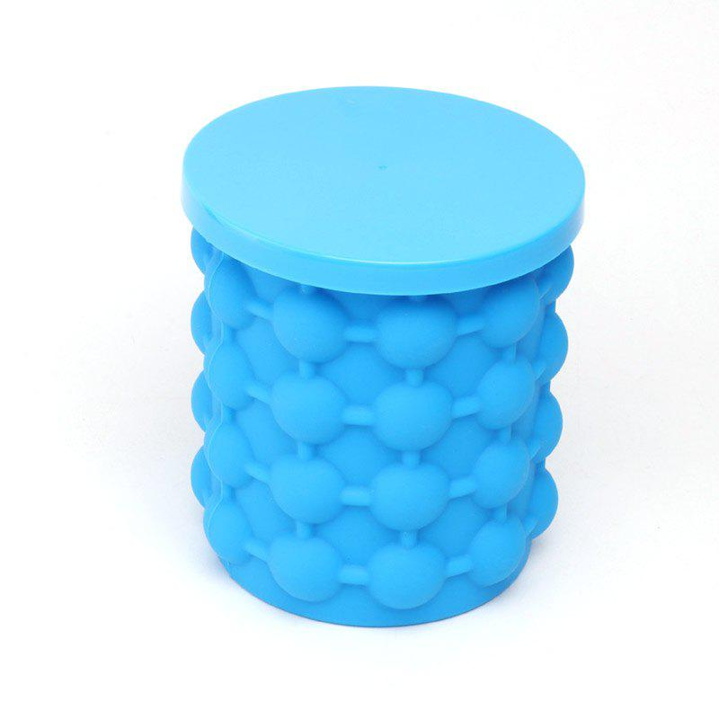 Silicone Ice Bucket Save Ice Can Be Frozen Champagne - DAY SKY BLUE