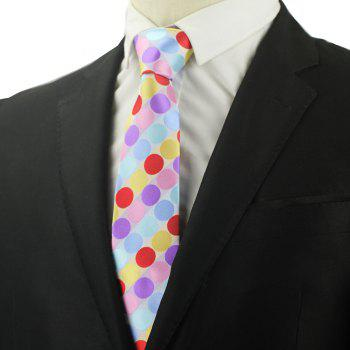 New Fashion Men Business Tie Dot All Matched Formal Necktie - multicolor
