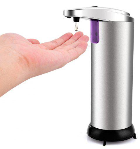 BALDR 0009 Touchless Stainless Steel Automatic IR Sensor Soap Liquid Dispenser - SILVER