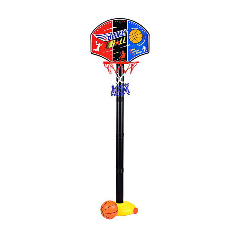 Portable Kids Basketball Stand Set Basket Hoop Backboard Net Play Game Toy Sport