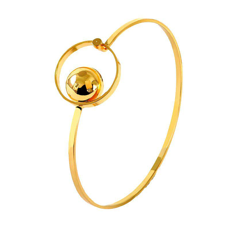 Classic Fashion Circle Ball Geometry Bracele - GOLD