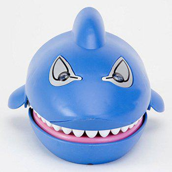 Shark Dentist Game Classic Biting Hand Flashing Eyes Evil Laugh - BLUE ORCHID