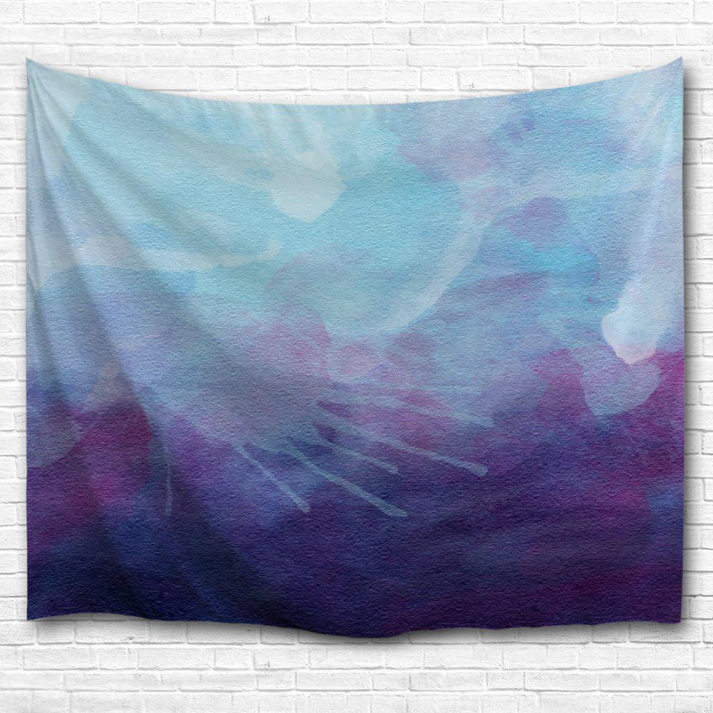 Blue Purple Ink Painting 3D Printing Home Wall Hanging Tapestry for Decoration rustic floral wallpaper roll 3d non woven wall paper for walls pink blue light blue purple yellow wallpapers flower for bedroom