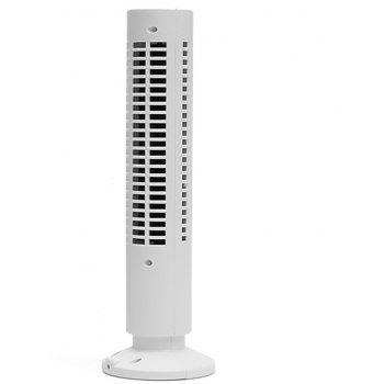 Portable Mini USB Tower Fan Cooling  Air Conditioner for Home Office - WHITE