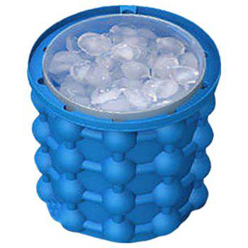 Revolutionary Saving Ice Cube Maker Bucket - DAY SKY BLUE