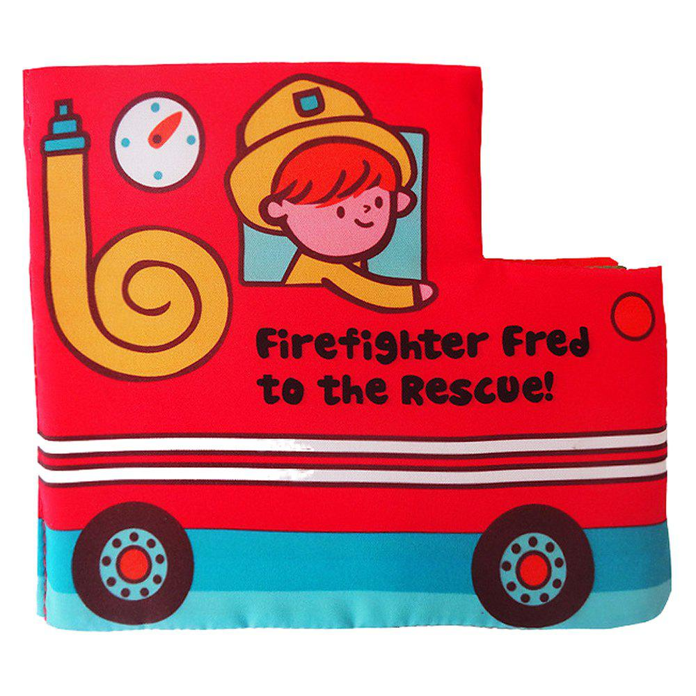 Fire Truck Cloth Book Early Childhood Education early childhood development education