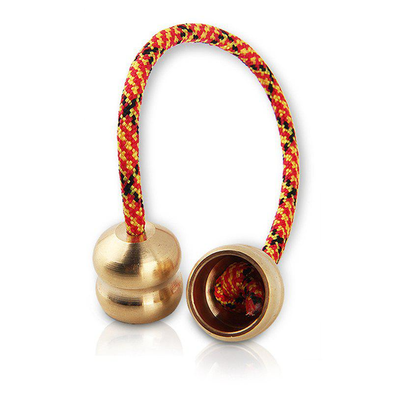 Alloy Finger Yoyo Ball Pressure Relief Toy - multicolor D