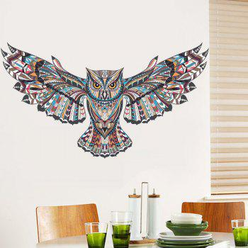 YEDUO  Owl Kids Nursery Rooms Decorations Wall Decals - multicolor A