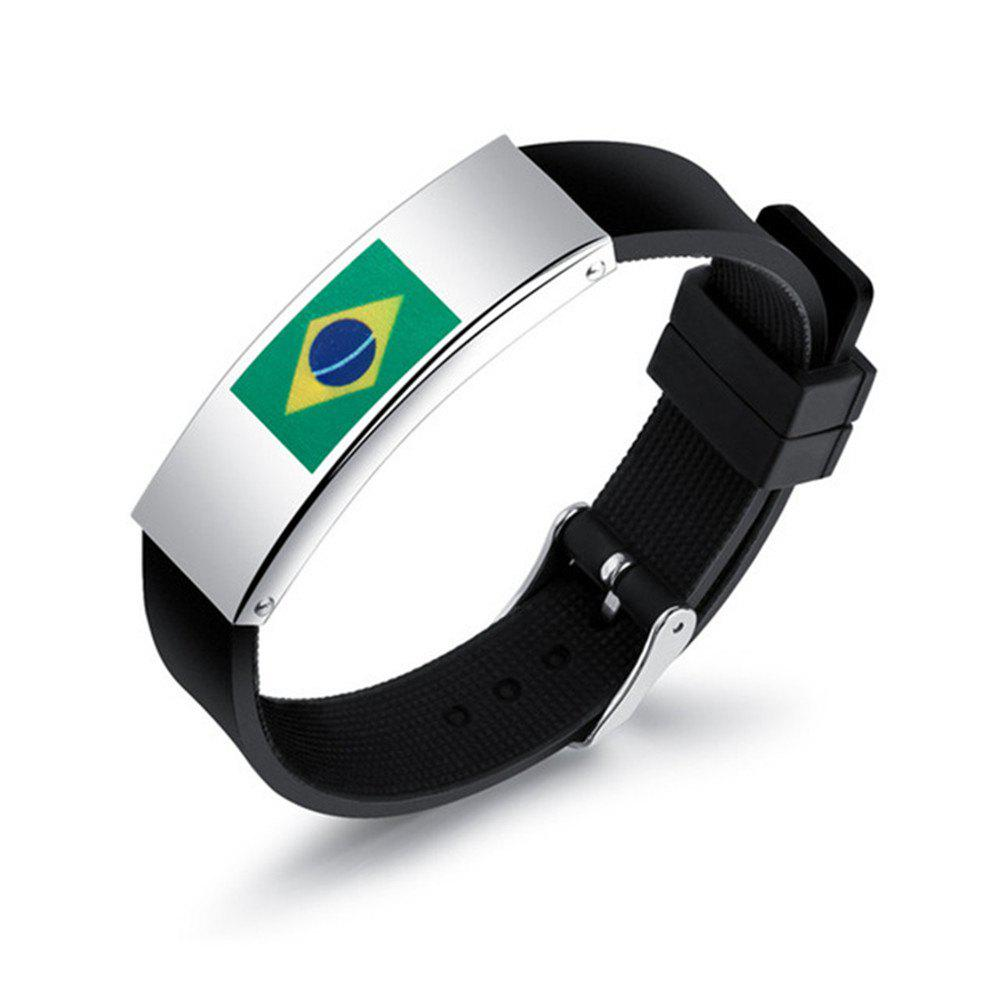 2018 New Fashion World Cup Ball Fans Wristband - multicolor F