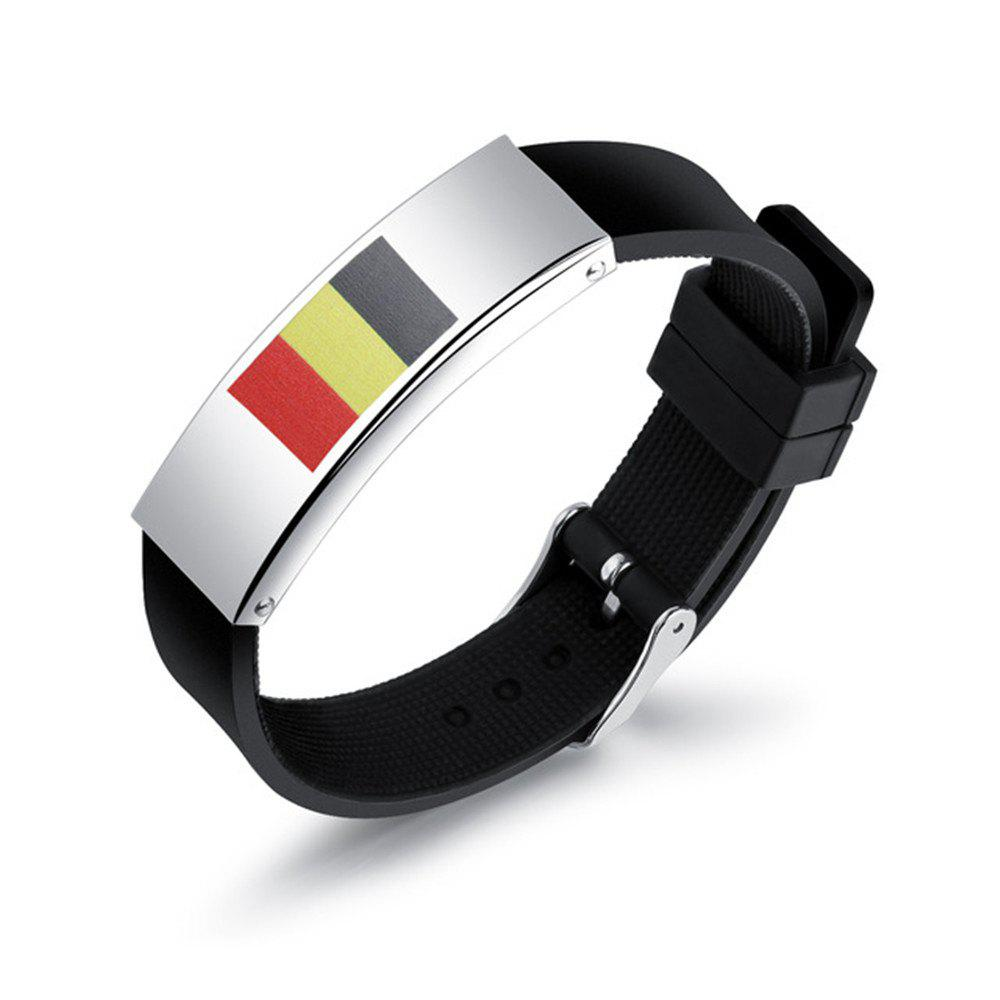 2018 New Fashion World Cup Ball Fans Wristband - multicolor H