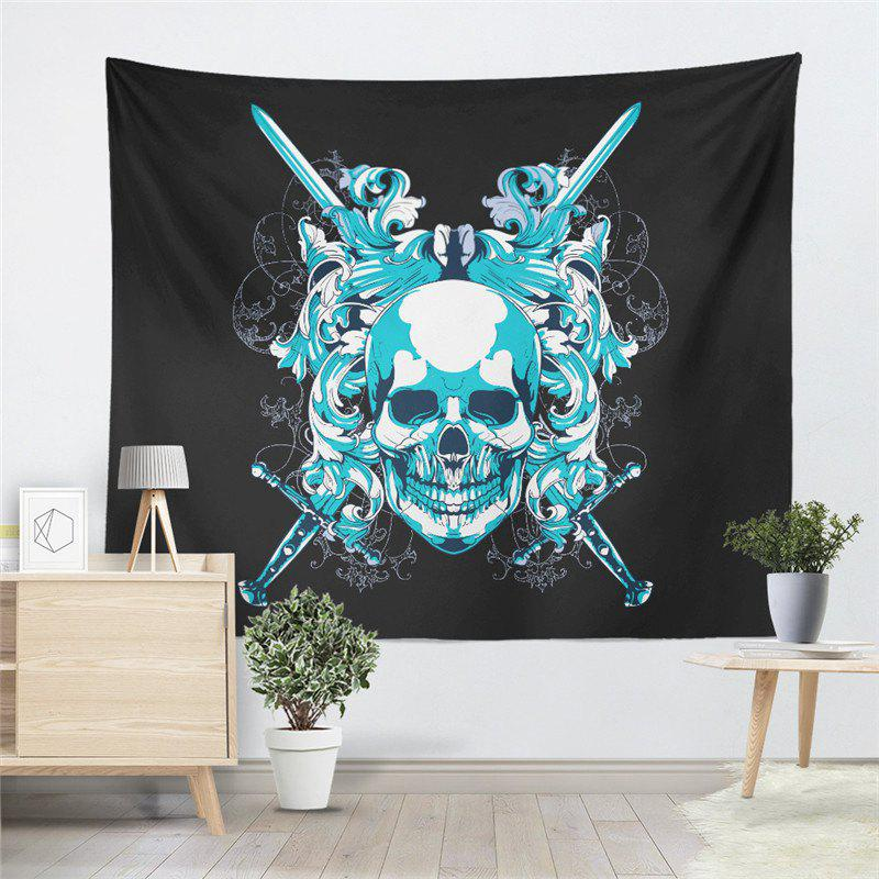 Skeleton Pattern  Personality Decoration Tapestry GT-40-1 - BLACK SIZE L