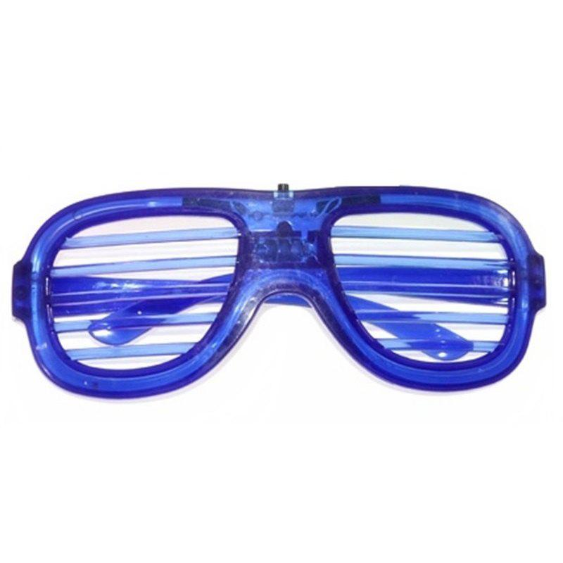 LED Light Up Shades Show Toy Glasses Party 1pc 3 lens 36 patterns rg blue led new year christmas party laser projector stage lighting dj disco bar party show stage light