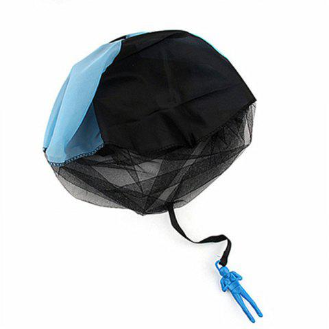 Multicolor Children Throwing Parachute Toy - OCEAN BLUE