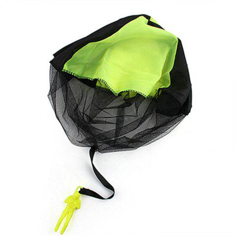 Multicolor Children Throwing Parachute Toy - GREEN