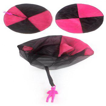 Multicolor Children Throwing Parachute Toy - NEON PINK