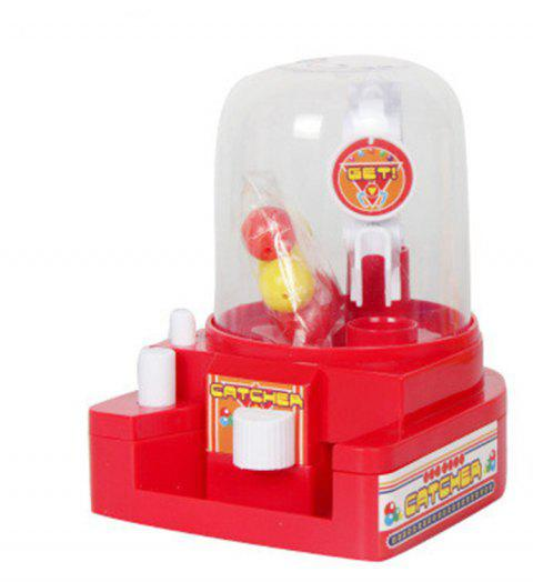 Mini Ball Machine Clip Candy Toys for Children - RED