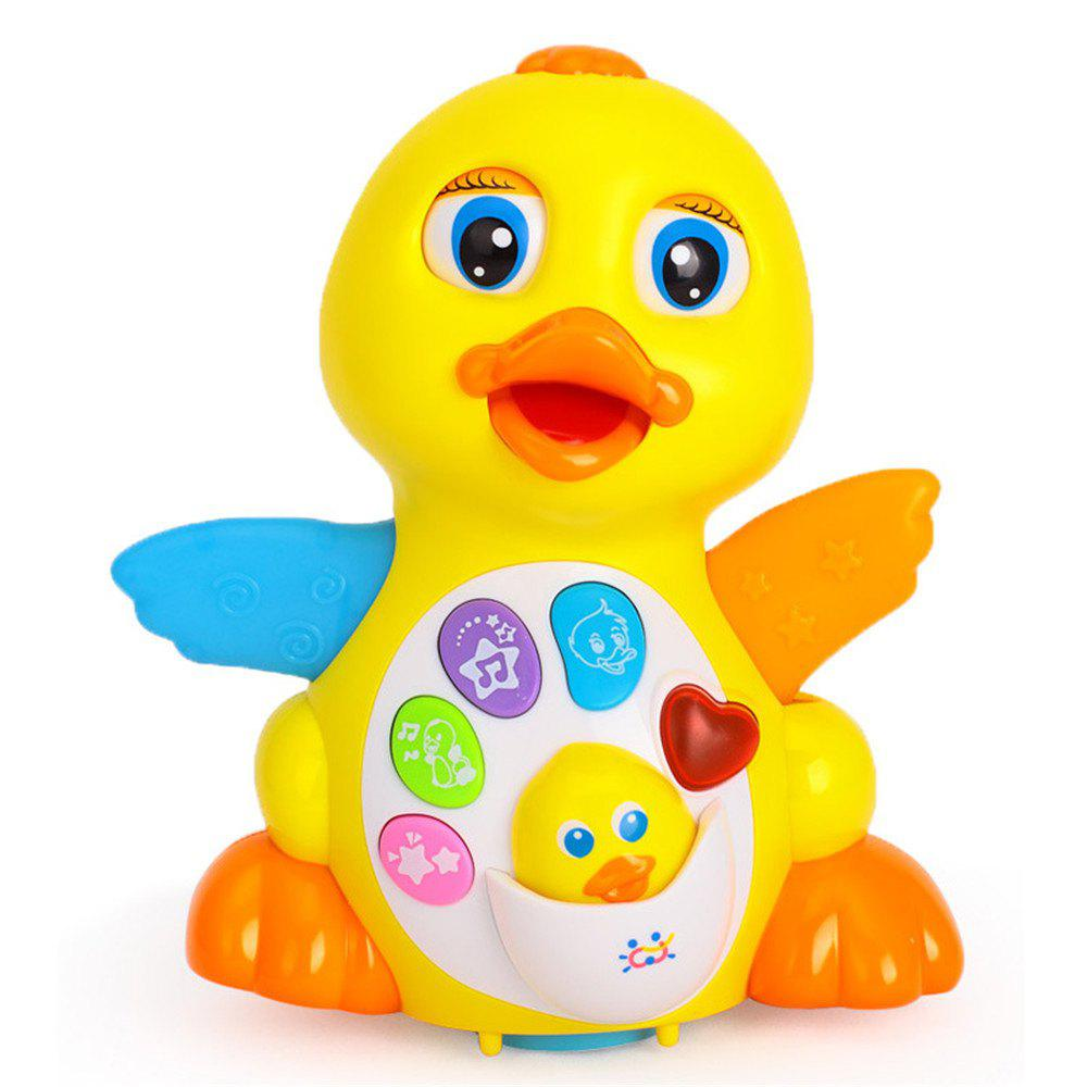 Kids Toy Musical Duck Lights Action with Adjustable Sound
