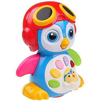 Musical Dancing Penguin Toy for Boys and Girls Kids Toddlers - multicolor A