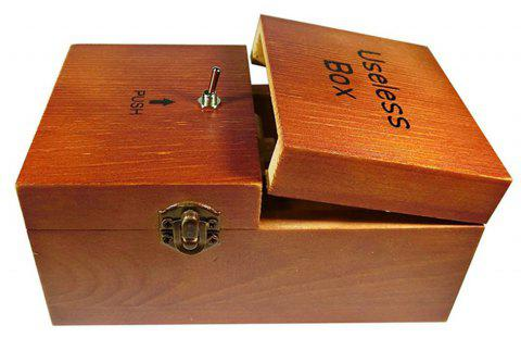 Useless Turns Itself off Alone Machine Fully Assembled in Box - WOOD
