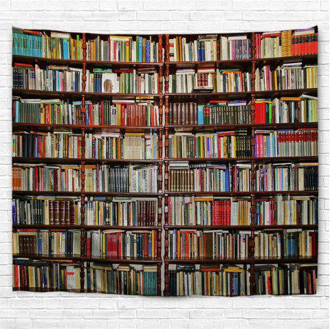 Bookcase 3D Printing Home Wall Hanging Tapestry for Decoration - multicolor A W230CMXL180CM