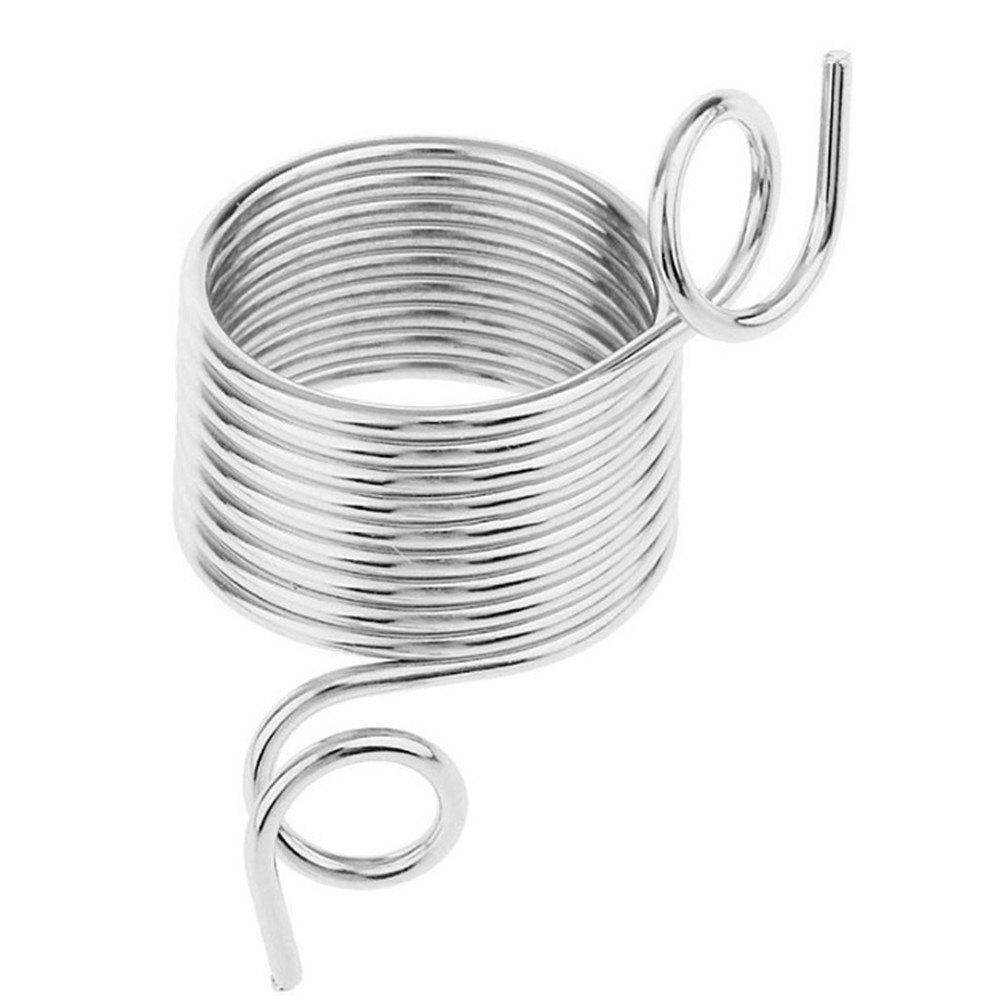 Stainless Steel Convenient Hand-Knit Sweater Finger Coil Tool - SILVER