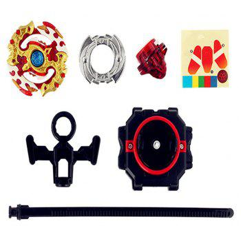 New Generation Assembly Alloy Explosive Spinning Toy - multicolor A