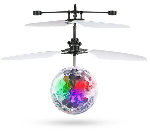 Infrared Induction Levitation Color Flashing LED Lights - multicolor A