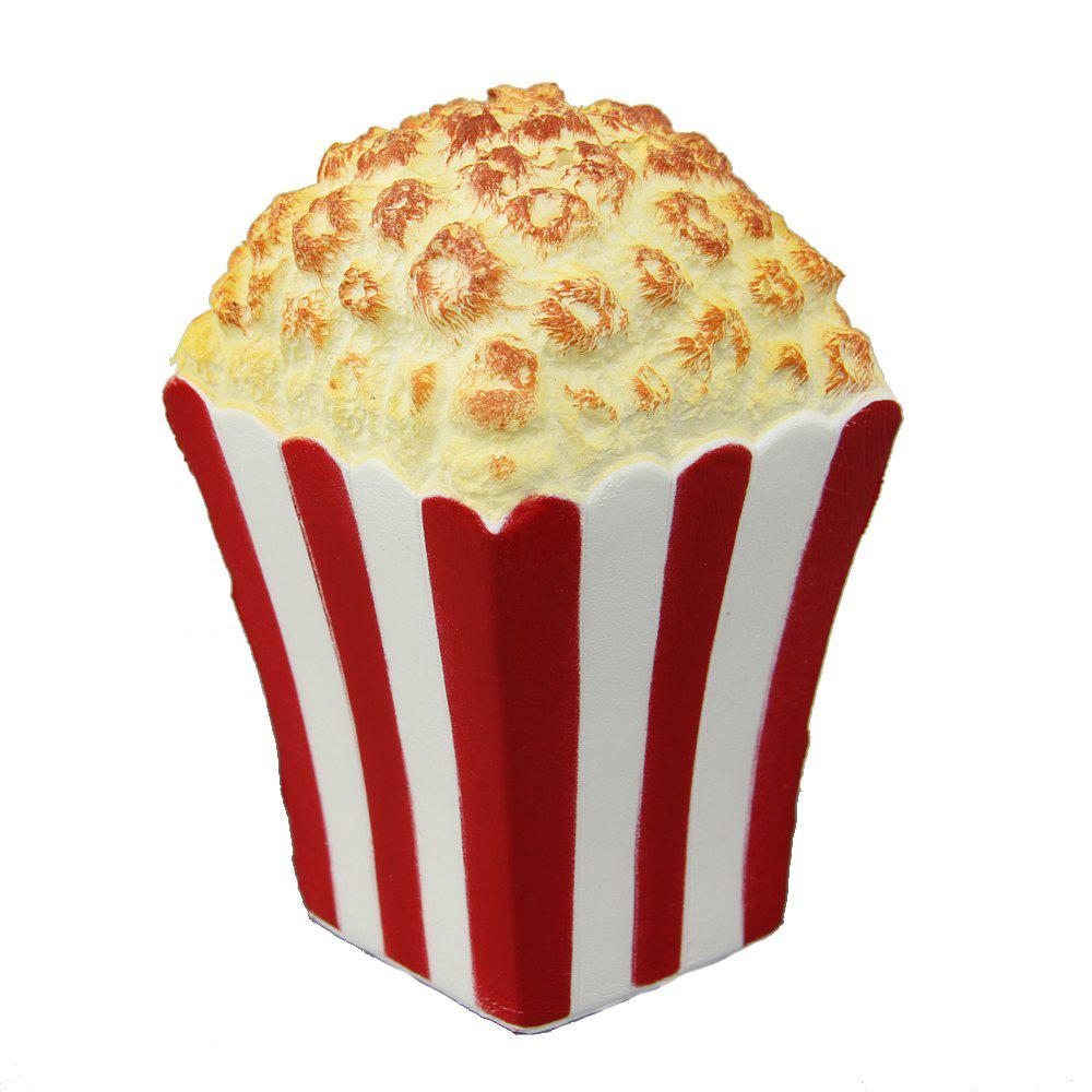 Jumbo Squishy Popcorn Relieve Stress Toy - RED