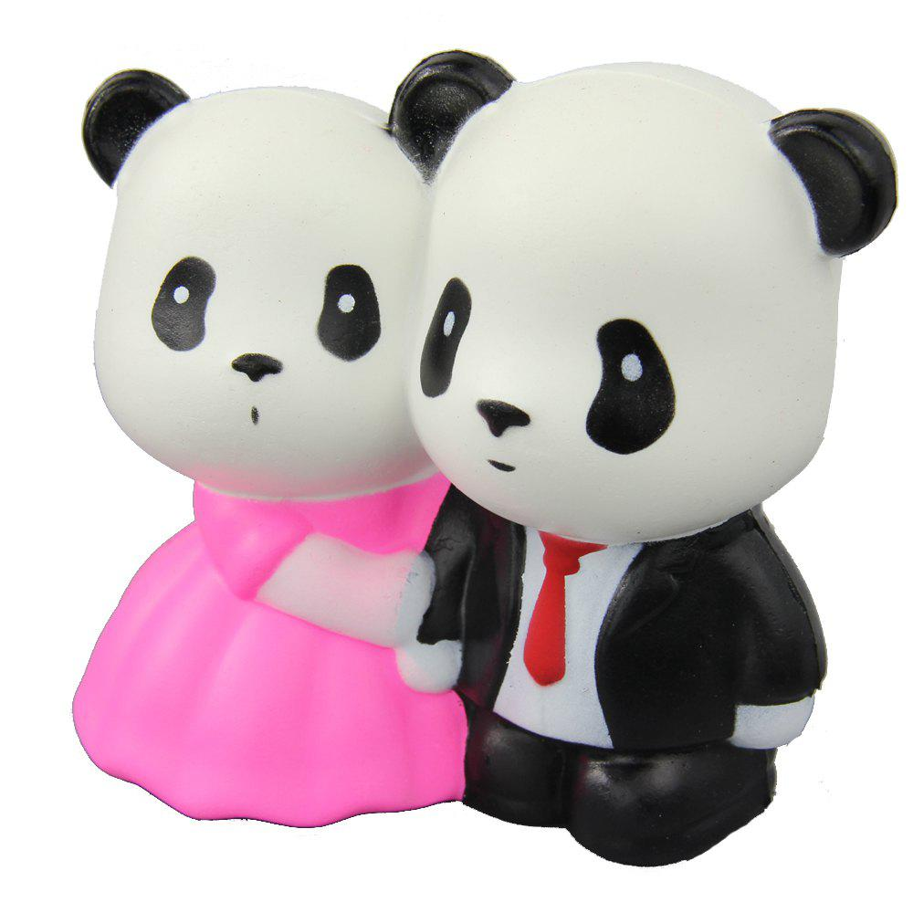 Jumbo Squishy Married Pandas Relieve Stress Toys тюнер dvb t2 supra sdt 88