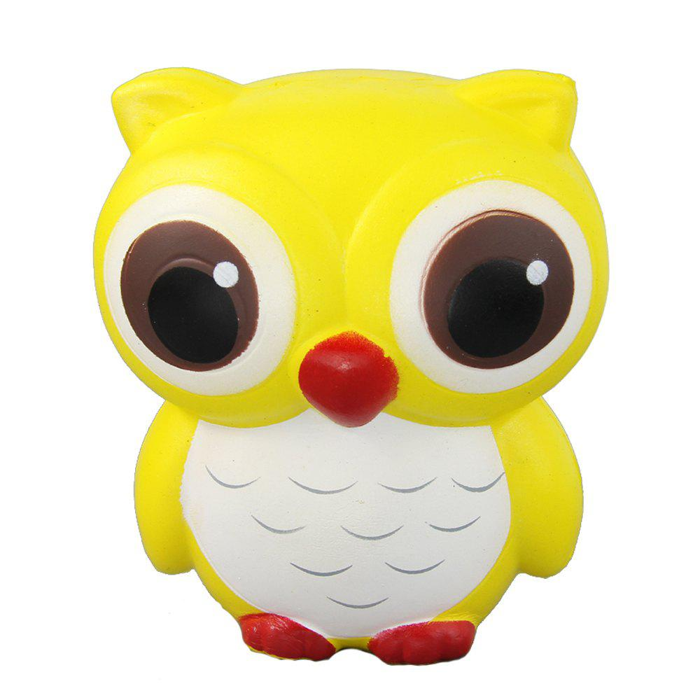 Jumbo Squishy Owl Relieve Stress Toys jumbo squishy brown cow relieve stress toys