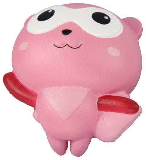 Jumbo Squishy Flying Man Relieve Stress Toys - PINK