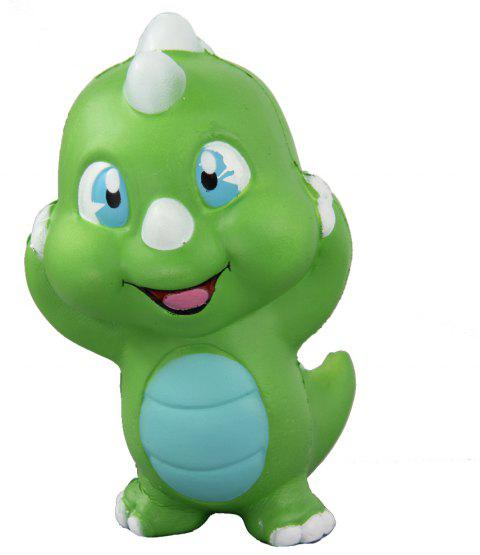 Jumbo Squishy Dinosaur Relieve Stress Toy - GREEN