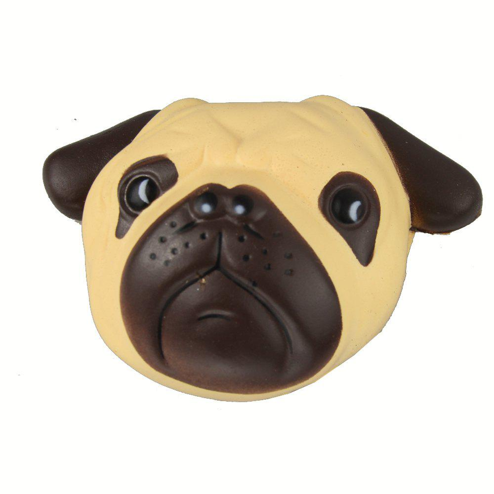 Jumbo Squishy Shar Pei Dog Relieve Stress Toy - BROWN