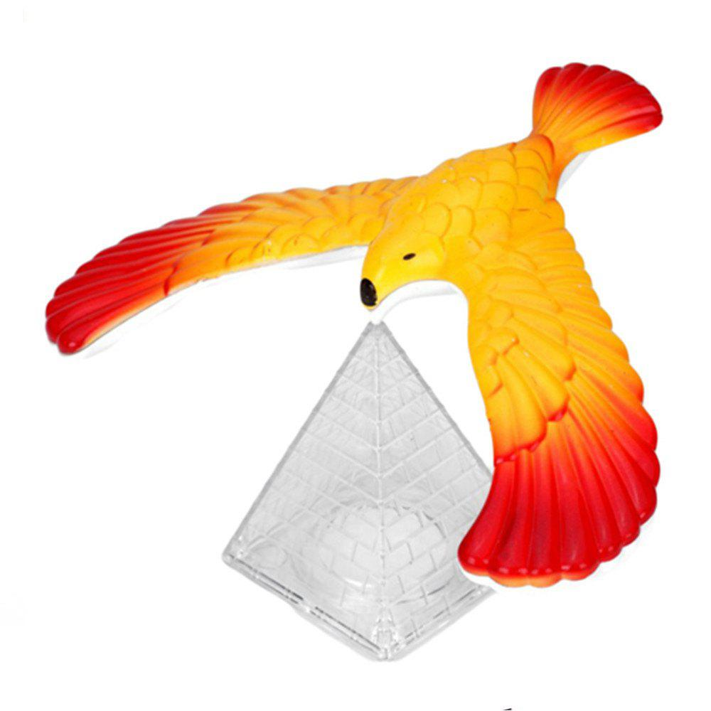 Magic Balancing Science Desk Toy Base Novelty Eagle Fun Learn Gag Gift - multicolor