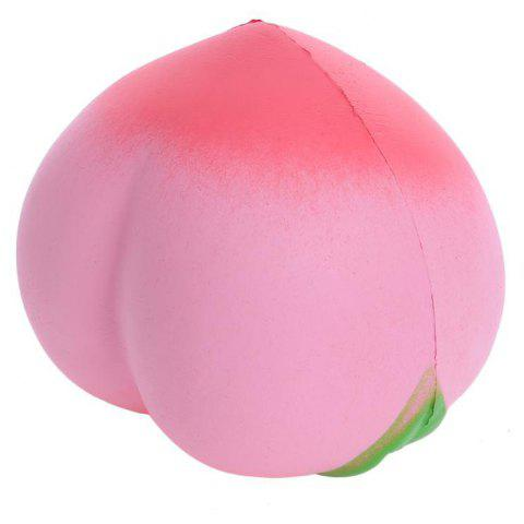 Jumbo Squishy Colossal Peach Toy - PIG PINK