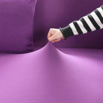 Elastic Tight Package Anti-Skid Pure Color Sofa Cover - PURPLE ONE-SEAT SOFA COVER90CM-140CM