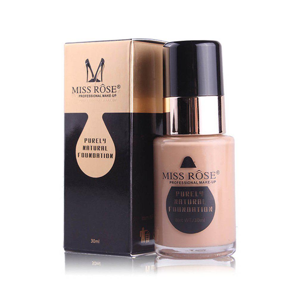 MISS ROSE New 30ML Glass Bottle Repair Nourishing Concealer Liquid Foundation -