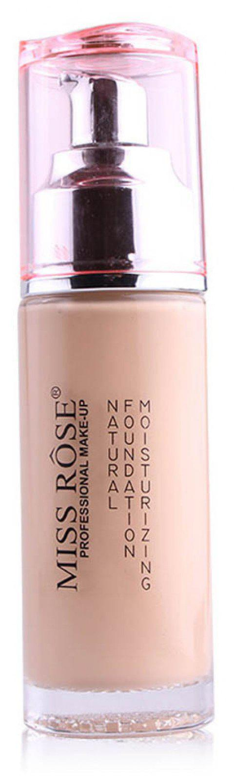 MISS ROSE Silver Bottle Concealer Liquid Foundation - 002