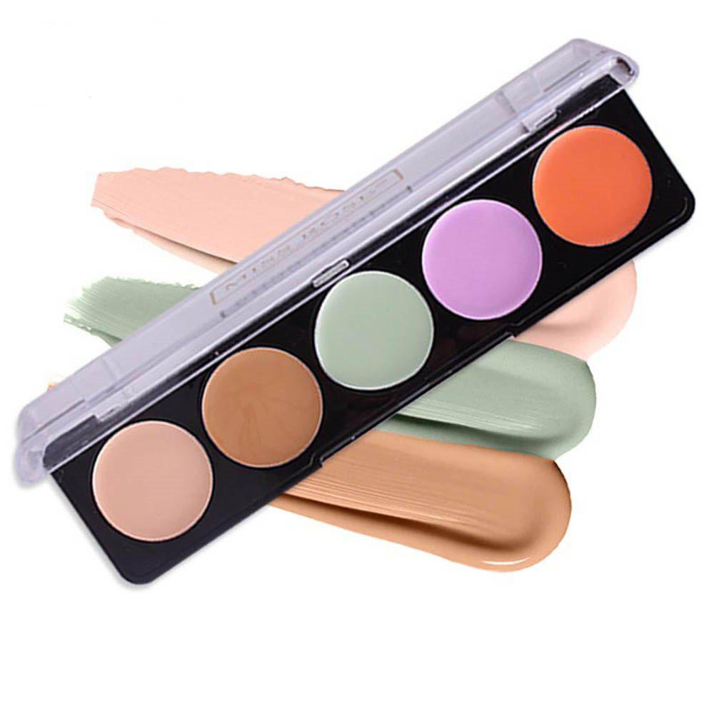 MISS ROSE New 5 Color Black Eyes Smallpox Ink Lasting Concealer -