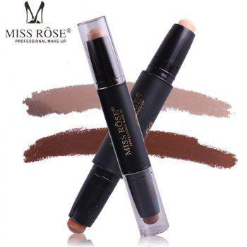 MISS ROSE Double Head Highlighter Shading Concealer Stick -