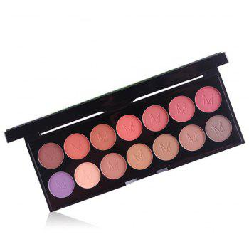 MISS ROSE 14 Pearlescent Matte Professional Makeup Multicolor Eyeshadow -
