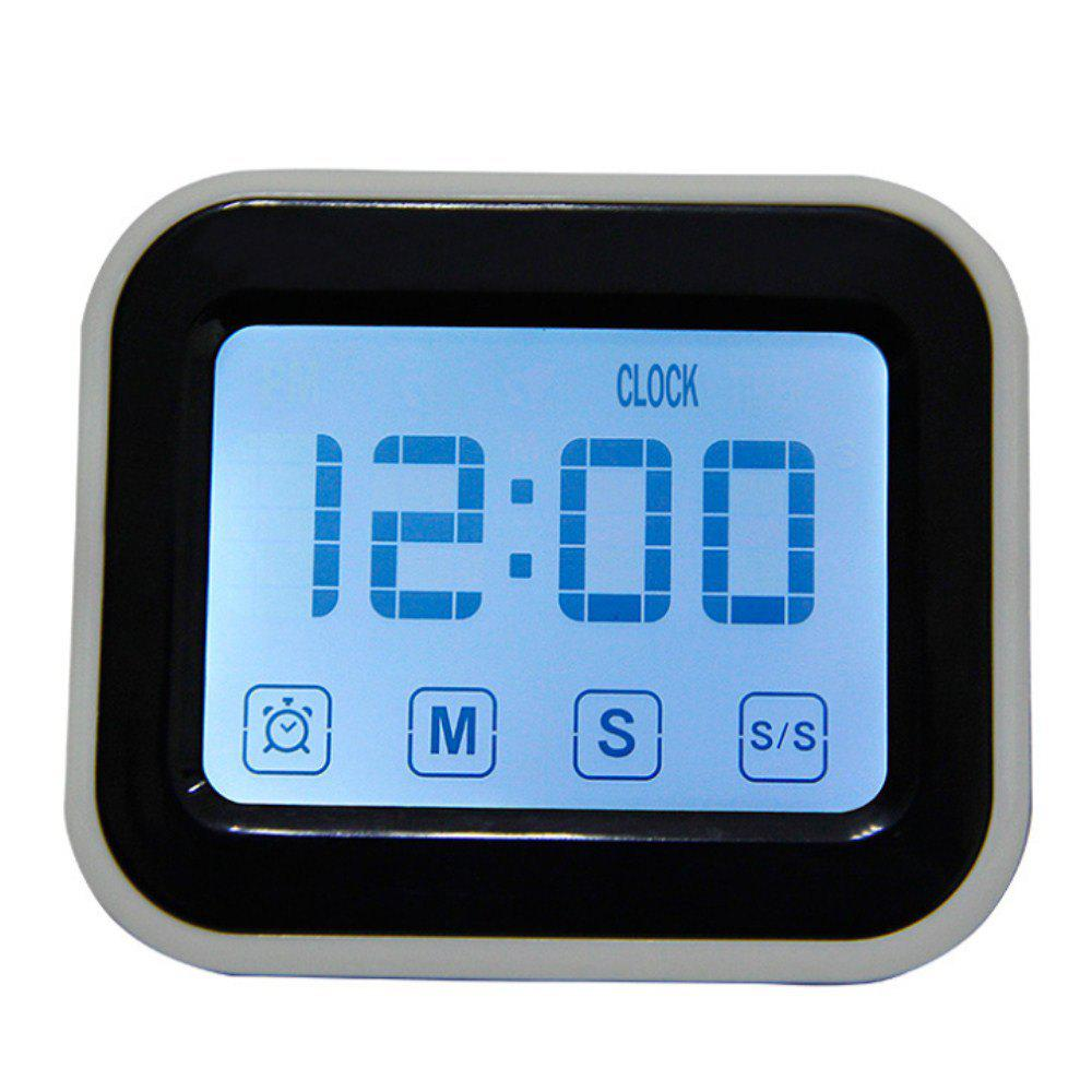 Luminous Electronic Kitchen Timer Alarm Clock dmwd commercial eighth 8 channel key kitchen timer digital button timing reminder restaurant loud alarm countdown hamburger shop
