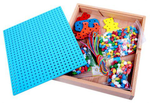 Children Puzzle Plugged Toys - multicolor
