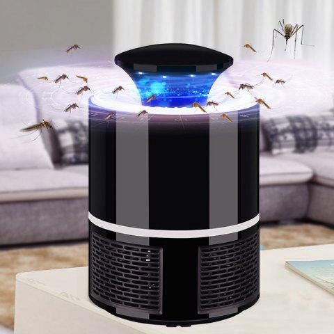 HNW - 365 Electric Mosquito Killer Lamp LED Bug Zapper - BLACK
