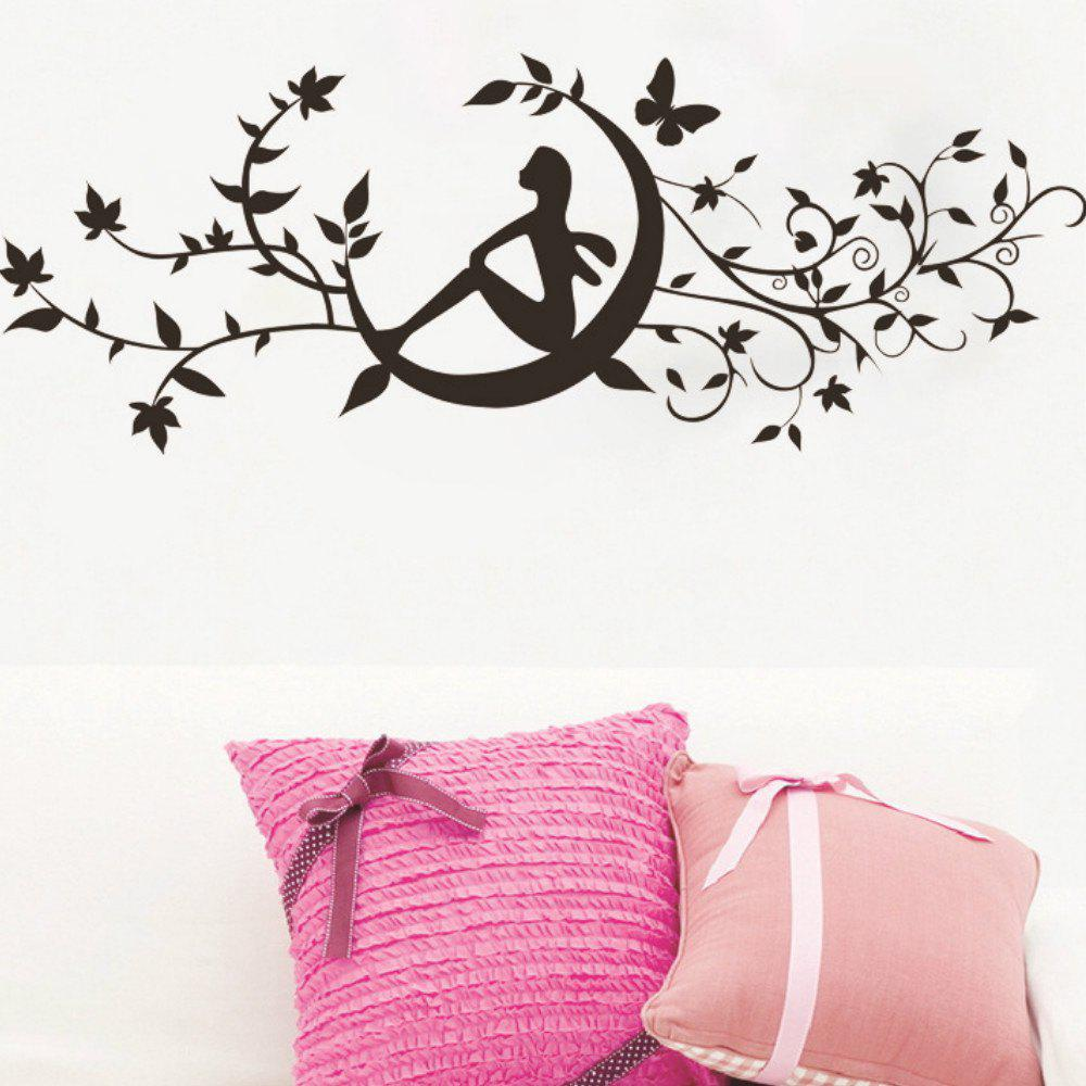 Art Decal Decoration Fashion Romantic Flower Wall Sticker все цены