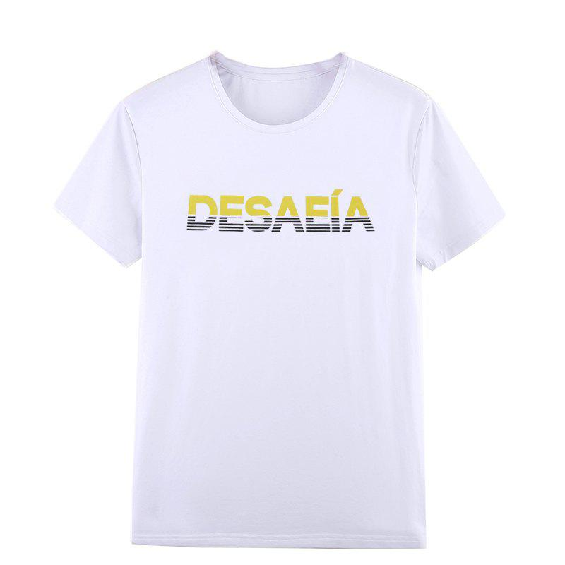 Students Leisure Sports Hot Sale Letter Stamp T-Shirts