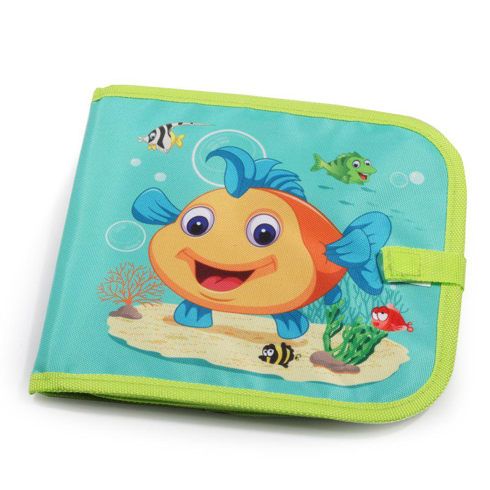 Educational Toys Children Graffiti Soft Panel Multi-function Writing Board Ocean