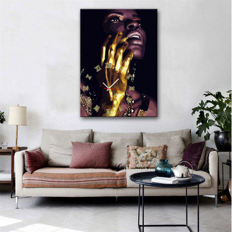 Special Design Frame Paintings Golden Hand Print - multicolor 9 X 13 INCH (24CM X 34CM)
