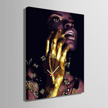 Special Design Frame Paintings Golden Hand Print - multicolor 16 X 11 INCH (40CM X 28CM)