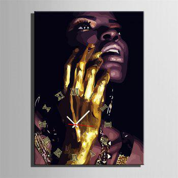 Special Design Frame Paintings Golden Hand Print - multicolor 24 X 16 INCH (60CM X 40CM)